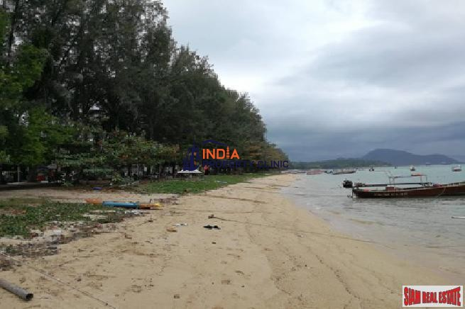Beachfront Land For Sale in Rawai Beach