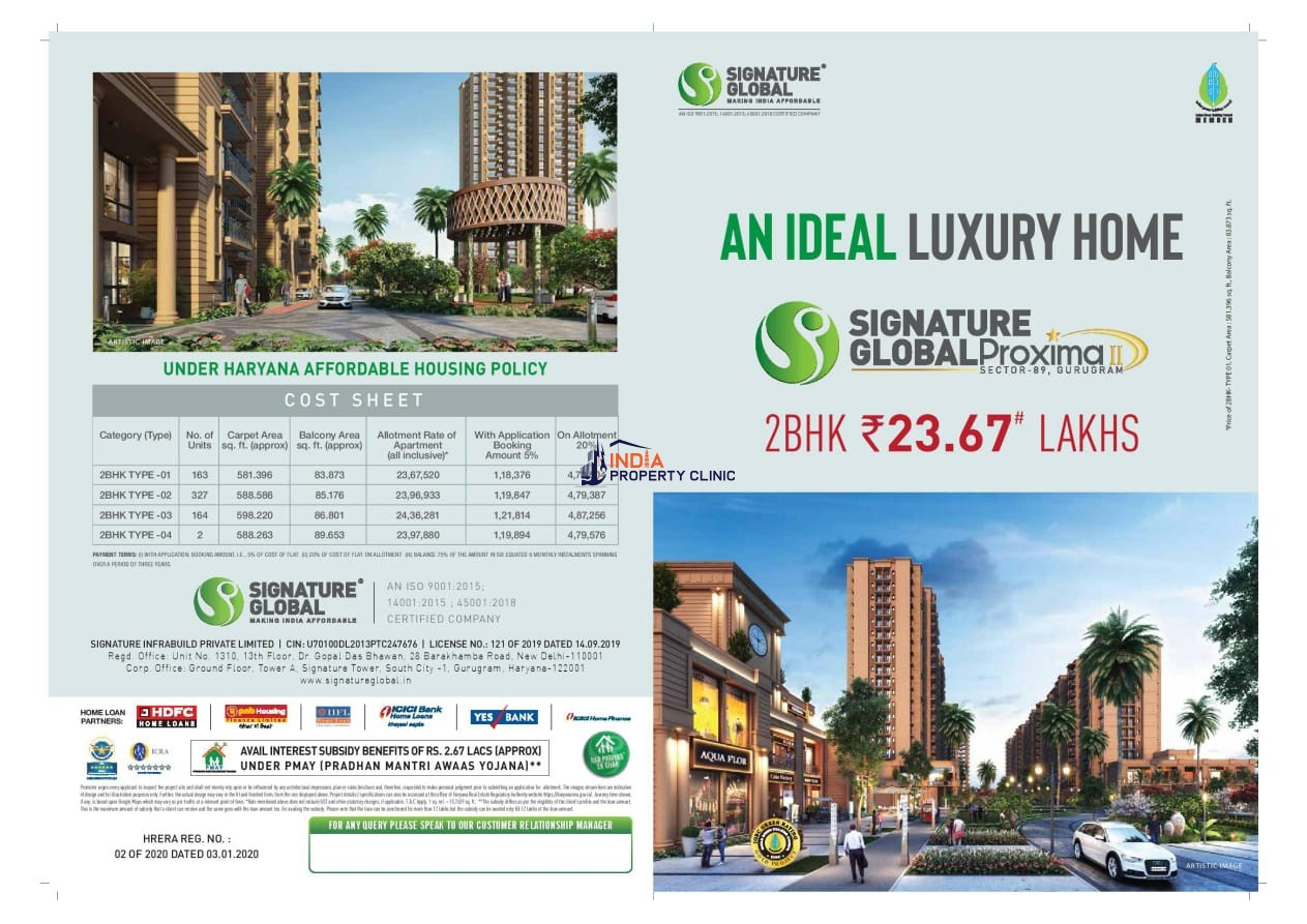 Cheap 2 BHK For Sale Sector 89 Gurgaon