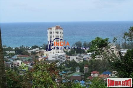 Sea View Land For Sale in Kata