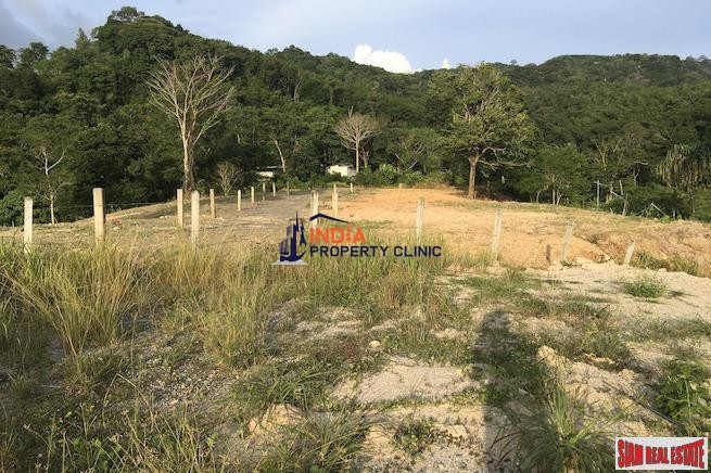 Hillside Land For Sale in Chalong