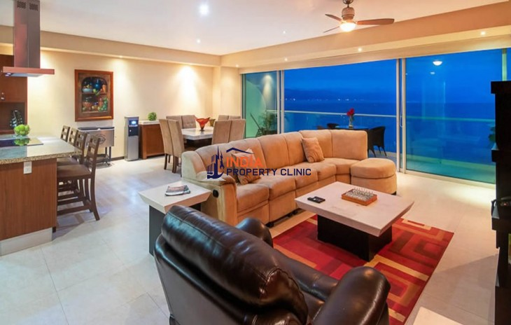 3 Bedroom Beachfront Condo for Sale in Puerto Vallarta