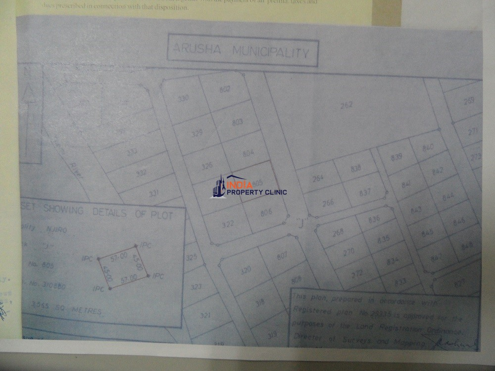 Plot For sale in Njiro