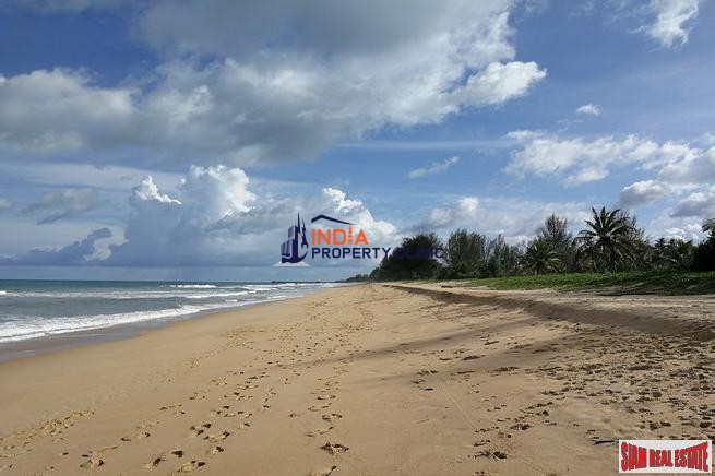 Beachfront Land For Sale in Phang Nga