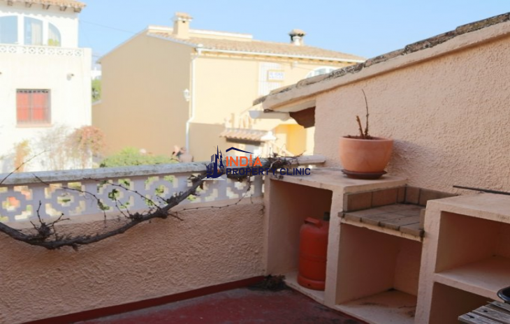 Terraced House In Moraira With Private Pool