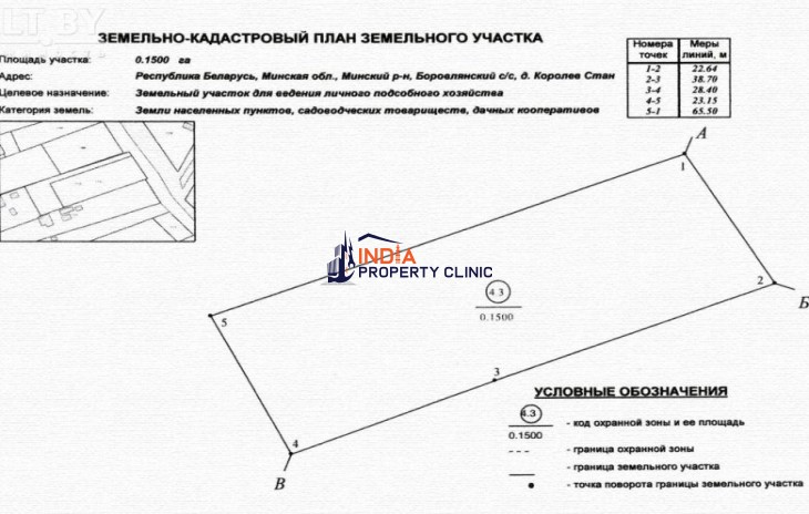 Land For Sale in Karaliou Stan