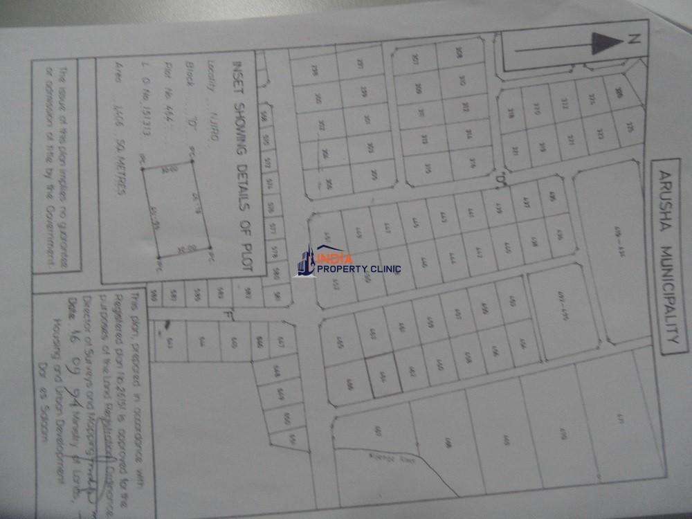 Land For sale in Njiro Contener