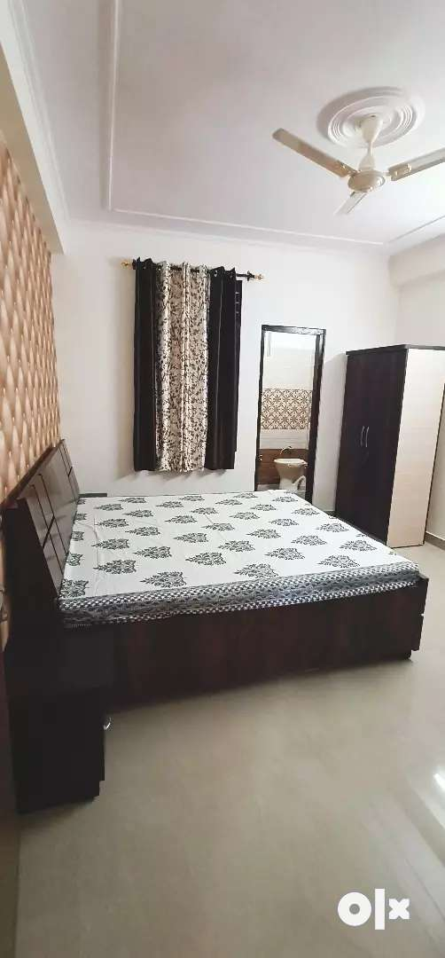2 BHK semi furnished flat for sale