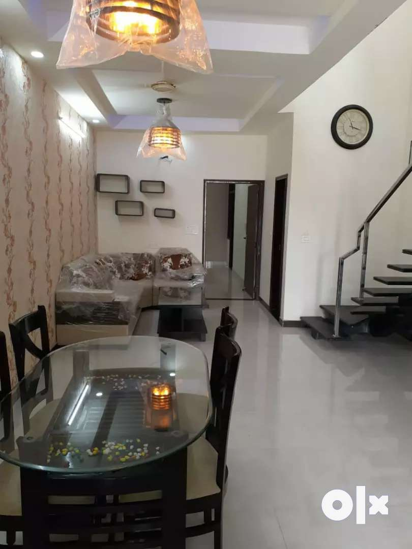 HOME IN JAIPUR AT JAGATPURA 3BHK 100SQY FURNIS DUPLEX VILLA JDAPR LON
