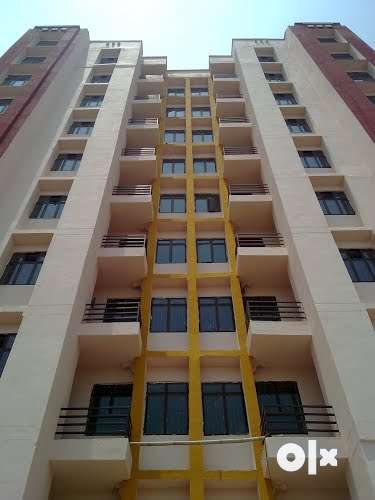 specious semi-furnished 2BHK flat with parking in a prime location