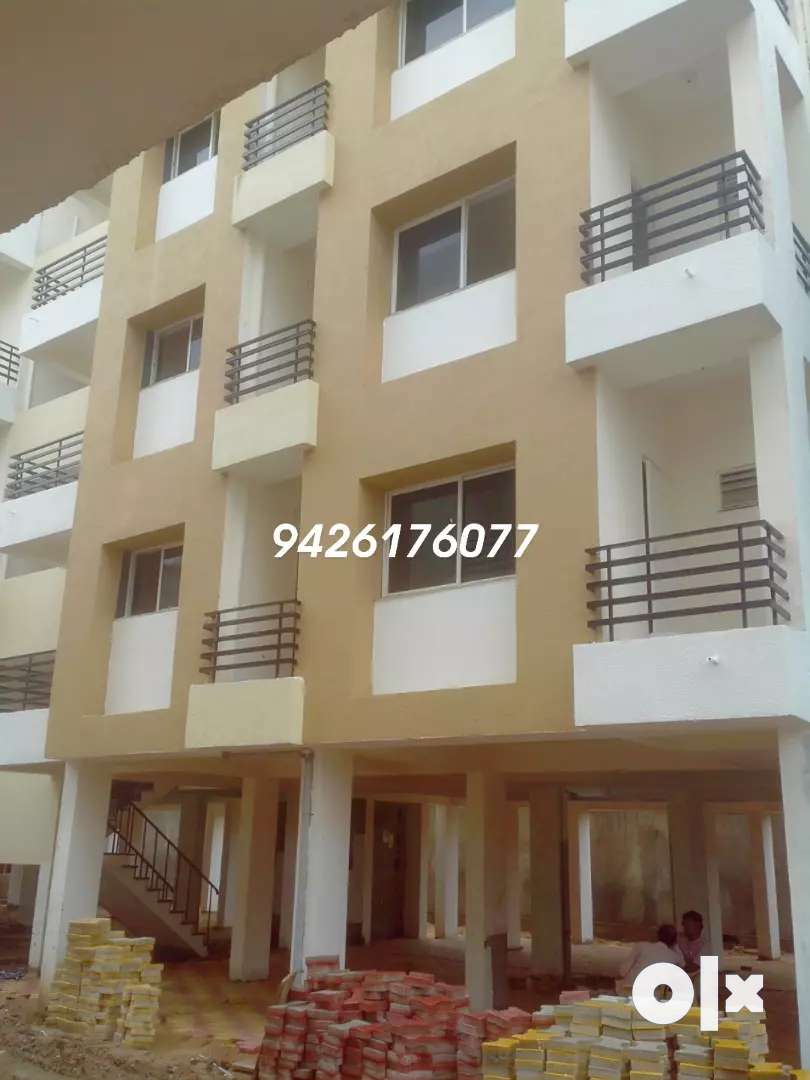 new flat on prime location in unjha