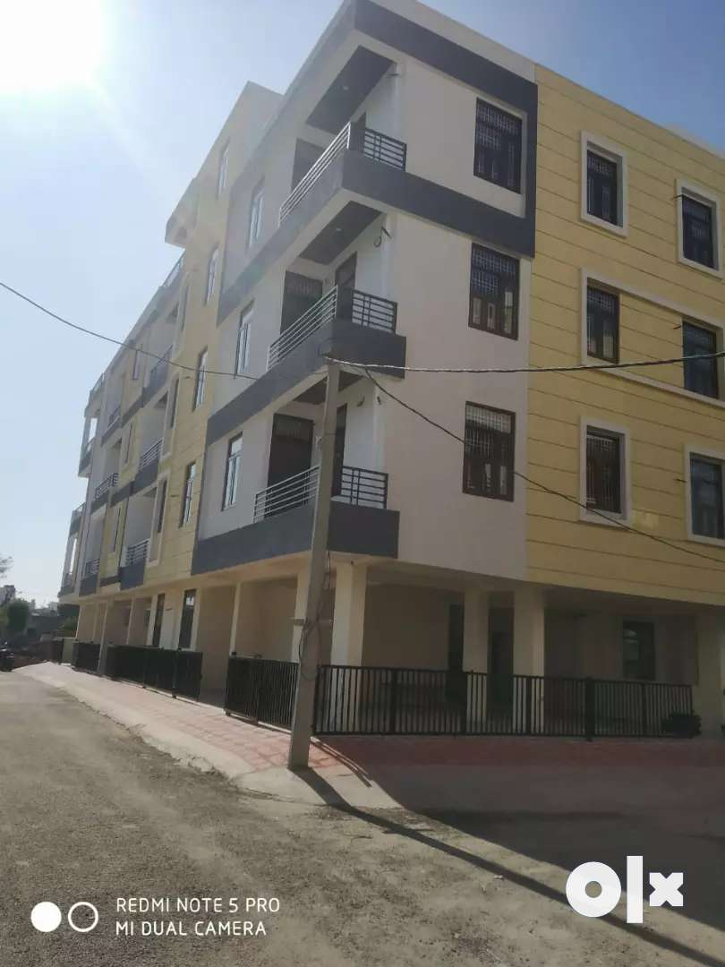 3bhk flats for sale in Jhotwara niwaru road, nearby chomu puliya