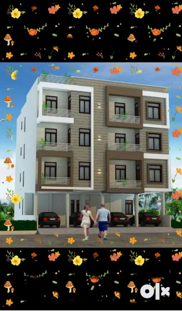 2bhk flat for sale in niwaru road, nearby dhadi ka fatk,