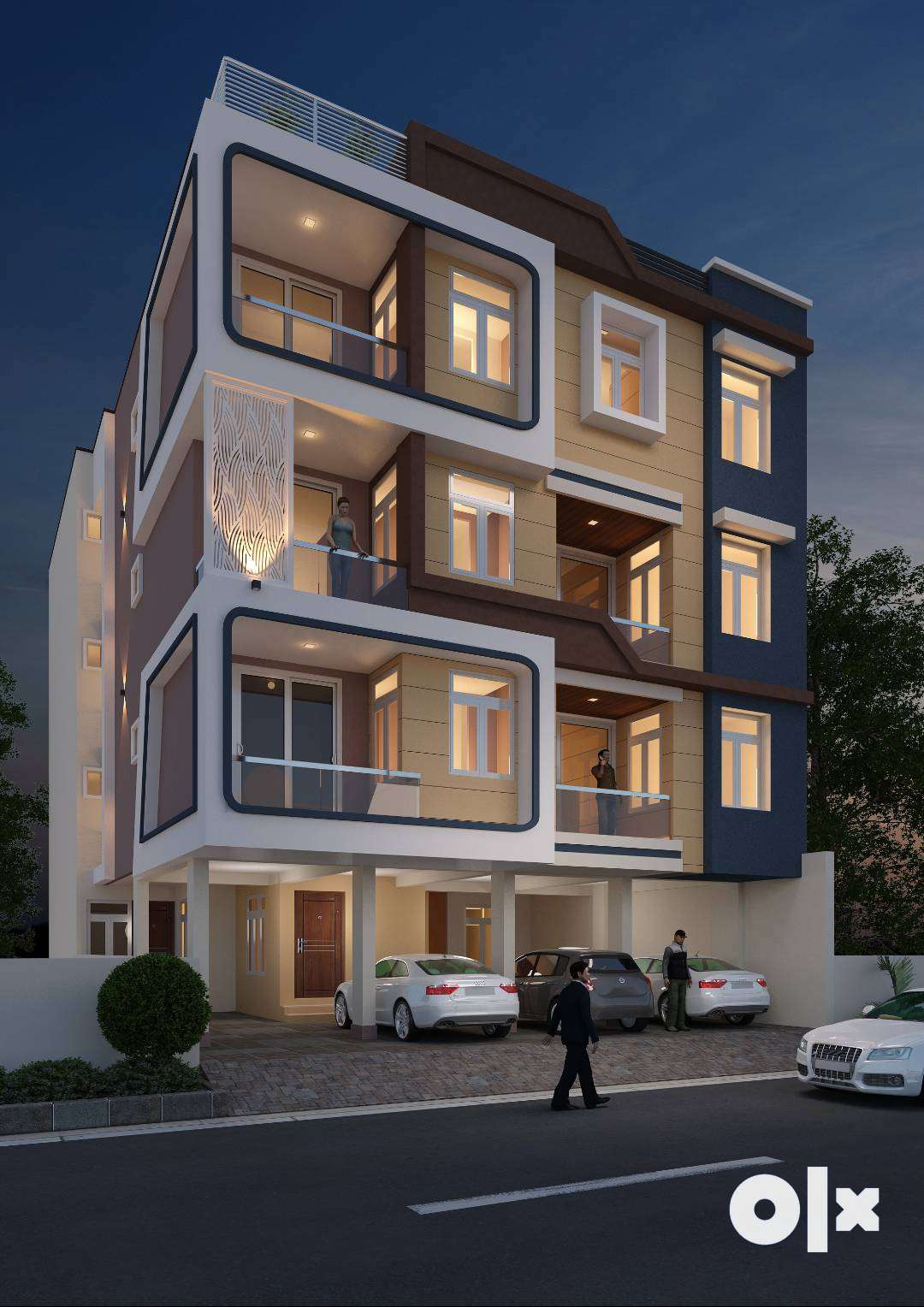 Modern design with well planned spaces - 3 BHK in Malviya Nagar