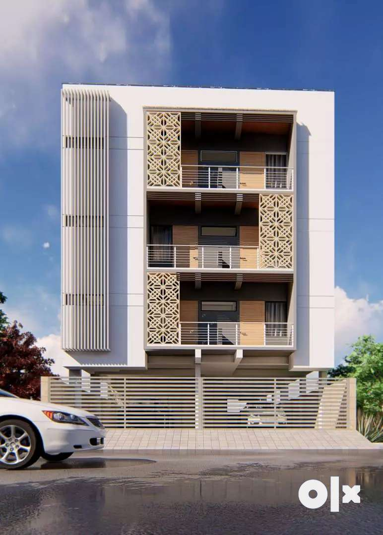 2 bhk semi furnished flat available in rani sati Nagar