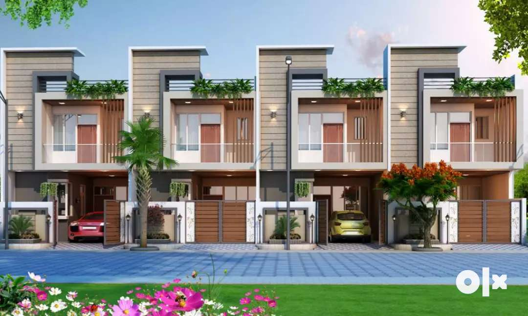 3 bhk duplex villa available in society Located on Vaishali Estate