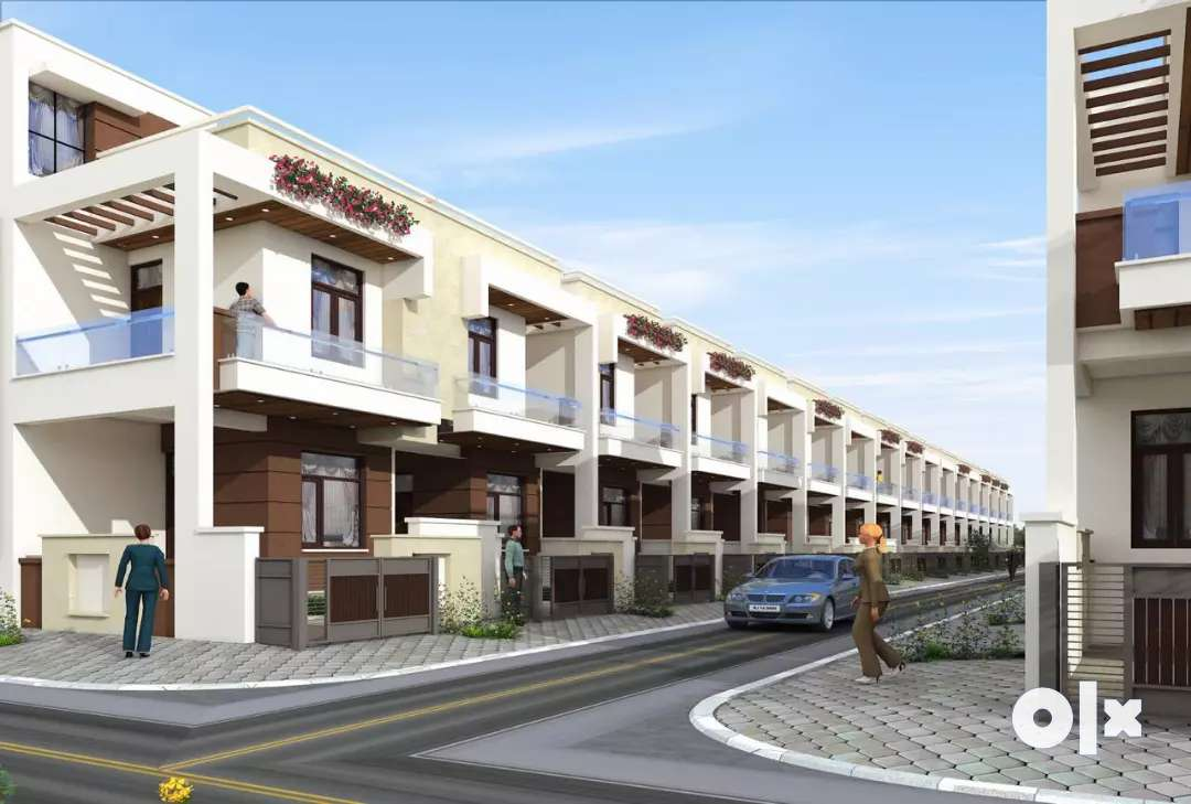 2 BHK jda approved luxurious gated township villa in Ajmer road jaipur