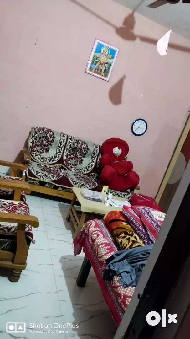Two room kitchen batroom parking and lawn for rent