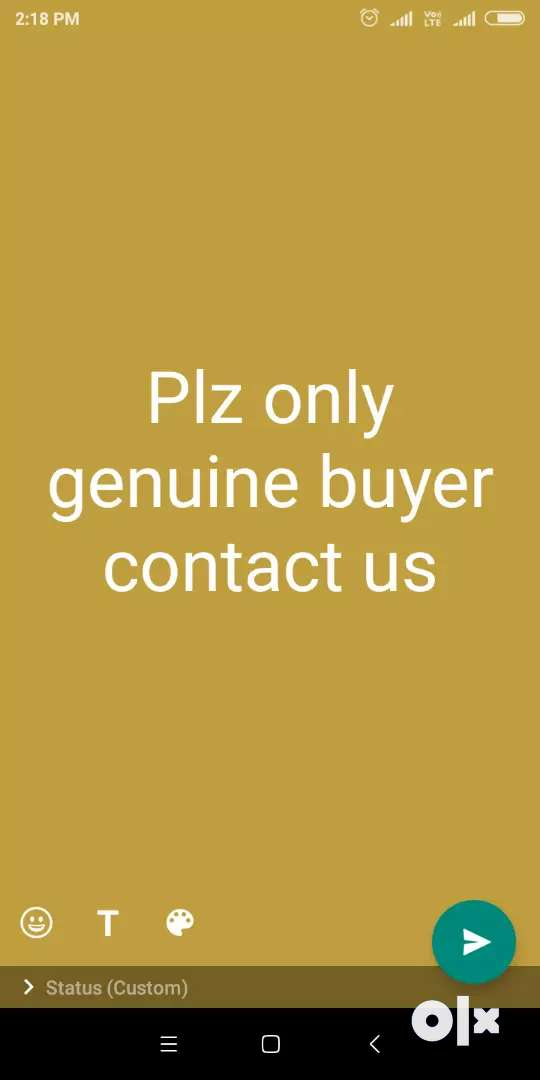 Only genuine buyer contact us