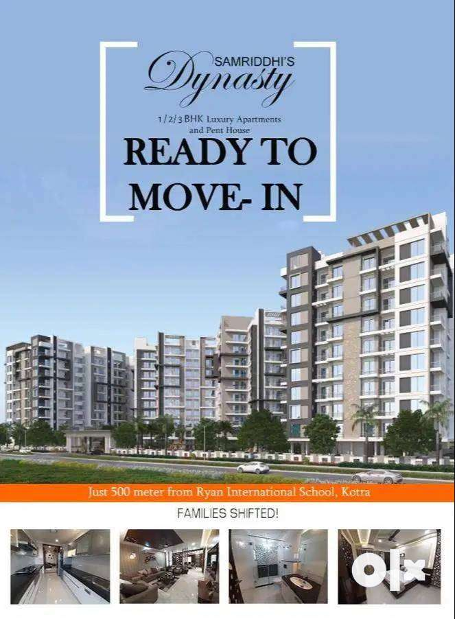 Big % 2BHK % Flat  For Sale In Kotra Road, Ajmer.*