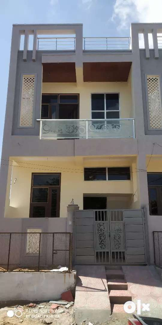 3 BHK SOCIETY APPROVED DUPLX VILLA