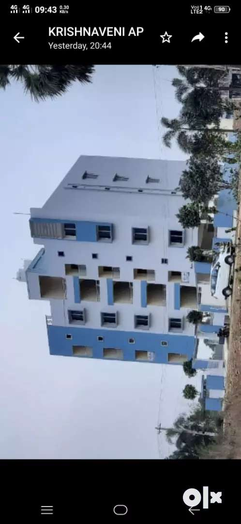 Newly Contracted 3 BHK  Residential apartment for Rent