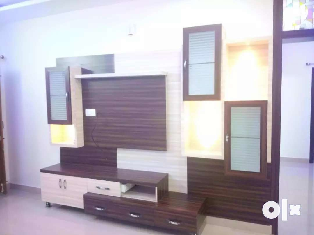 A well furnished 3BHK deluxe flat @1700sft for lease at Hanamkonda