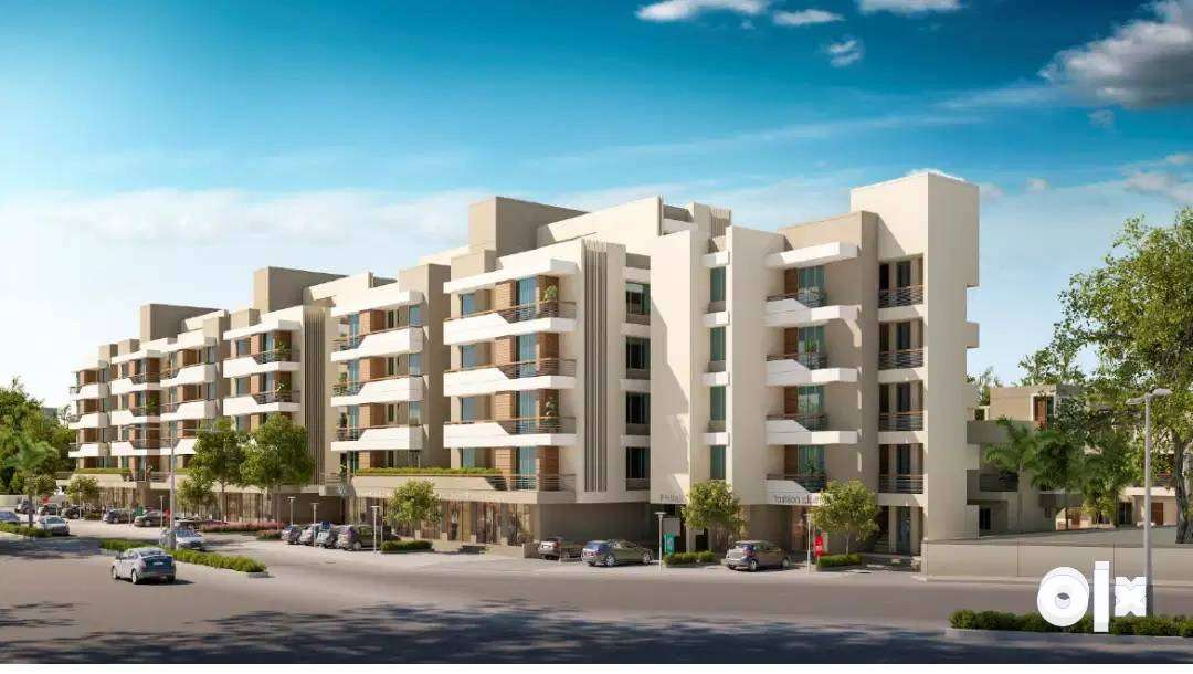 ^416sqft CA% 1BHK Luxury flat/for sale at RUDRAKSH BLISS