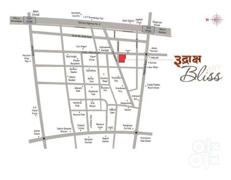 #Apt 659sqft% 1BHK flat available/for sale at RUDRAKSH BLISS