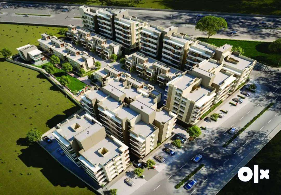 &Apt 659sqft% 1BHK flat available/for sale at RUDRAKSH BLISS