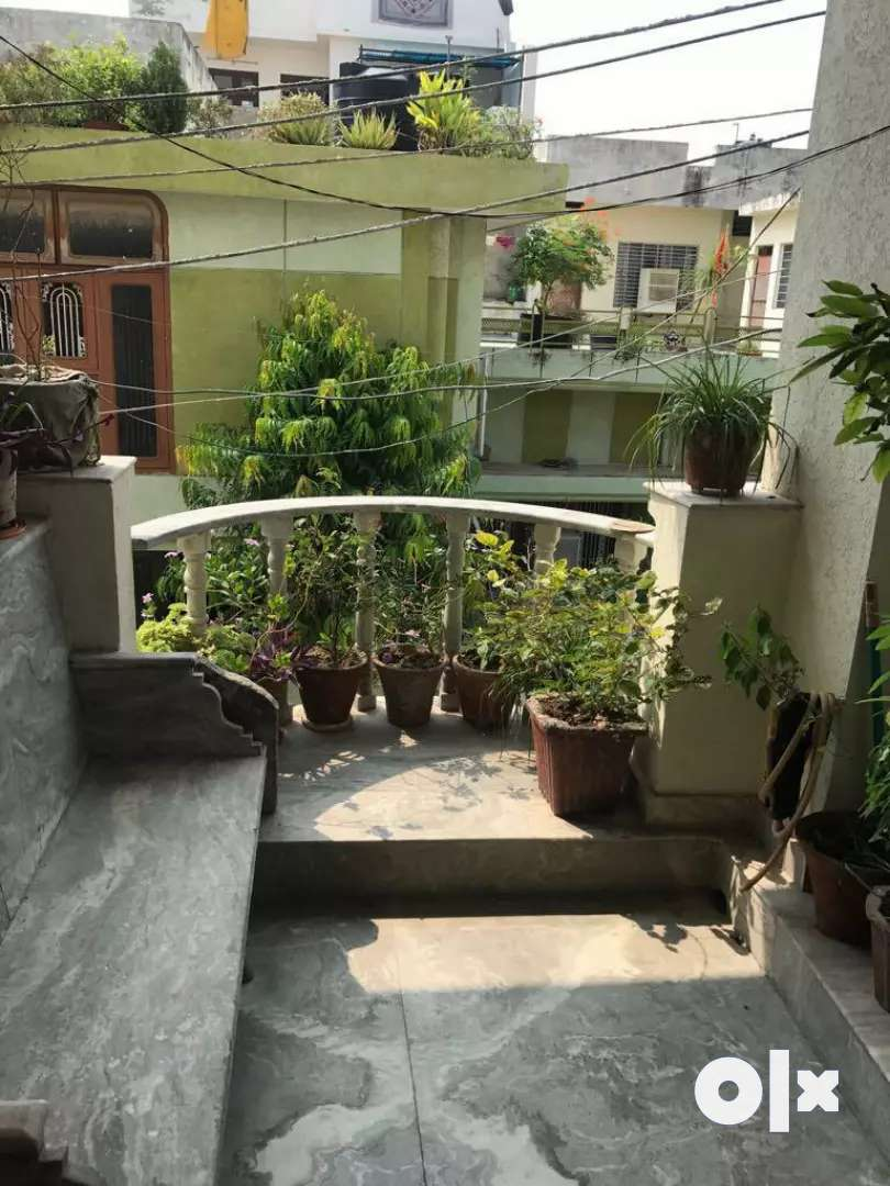 2BHK furnished portion with ample of parking space &quiet environment