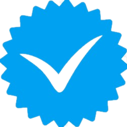 user verified badge